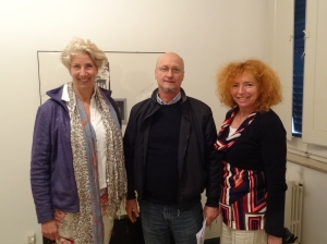 In Chiaravalle heeft Martine een ontmoeting gehad met de directeur van het museum in Chiaravalle, het geboortedorp van Maria Montessori.